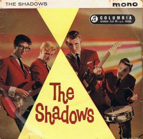 THE SHADOWS The Shadows EP Vinyl Record 7 Inch Columbia 1961